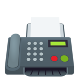 Fax Machine on JoyPixels 5.0