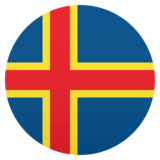 Flag: Åland Islands on JoyPixels 5.0