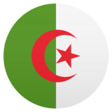 Flag: Algeria on JoyPixels 5.0