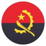 Flag: Angola on JoyPixels 5.0