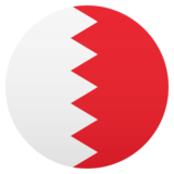 Flag: Bahrain on JoyPixels 5.0