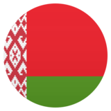 Flag: Belarus on JoyPixels 5.0