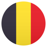 Flag: Belgium on JoyPixels 5.0