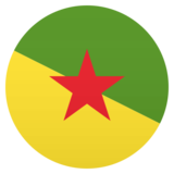 Flag: French Guiana on JoyPixels 5.0