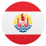 Flag: French Polynesia on JoyPixels 5.0