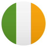 Flag: Ireland on JoyPixels 5.0