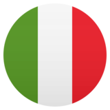 Flag: Italy on JoyPixels 5.0