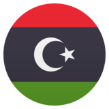 Flag: Libya on JoyPixels 5.0