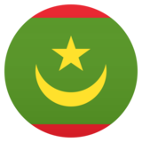 Flag: Mauritania on JoyPixels 5.0