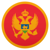 Flag: Montenegro on JoyPixels 5.0
