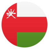 Flag: Oman on JoyPixels 5.0