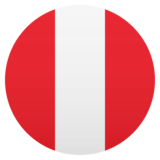 Flag: Peru on JoyPixels 5.0