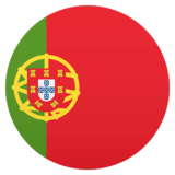 Flag: Portugal on JoyPixels 5.0