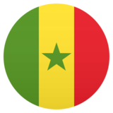 Flag: Senegal on JoyPixels 5.0