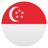 Flag: Singapore on JoyPixels 5.0