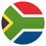 Flag: South Africa on JoyPixels 5.0