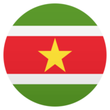 Flag: Suriname on JoyPixels 5.0