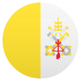 Flag: Vatican City on JoyPixels 5.0