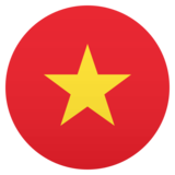 Flag: Vietnam on JoyPixels 5.0