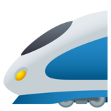 High-Speed Train on JoyPixels 5.0