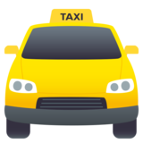 Oncoming Taxi on JoyPixels 5.0
