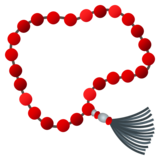 Prayer Beads on JoyPixels 5.0