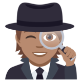 Detective: Medium Skin Tone on JoyPixels 5.0