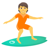 Person Surfing on JoyPixels 5.0