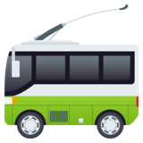 Trolleybus on JoyPixels 5.0