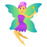 Woman Fairy on JoyPixels 5.0