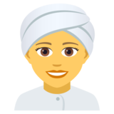 Woman Wearing Turban on JoyPixels 5.0