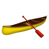 Canoe on Emojipedia 5.2