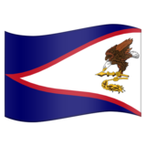 Flag for American Samoa (US-AS) on Emojipedia 5.2