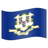 Flag for Connecticut (US-CT) on Emojipedia 5.2