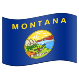 Flag for Montana (US-MT) on Emojipedia 5.2