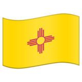 Flag for New Mexico (US-NM) on Emojipedia 5.2