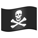 Pirate Flag on Emojipedia 5.2