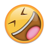 Rolling on the Floor Laughing on Emojipedia 5.2