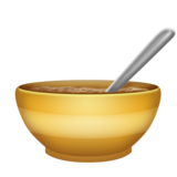 Bowl with Spoon on Emojipedia 6.0