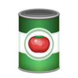 Canned Food on Emojipedia 6.0