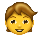 Child on Emojipedia 6.0