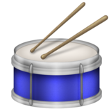 Drum on Emojipedia 6.0