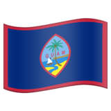 Flag for Guam (US-GU) on Emojipedia 6.0