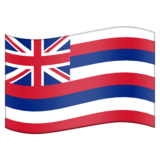 Flag for Hawaii (US-HI) on Emojipedia 6.0