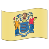 Flag for New Jersey (US-NJ) on Emojipedia 6.0