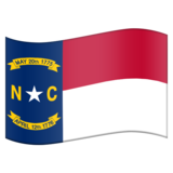 Flag for North Carolina (US-NC) on Emojipedia 6.0