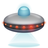 Flying Saucer on Emojipedia 6.0