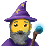 Man Mage on Emojipedia 6.0