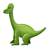 Sauropod on Emojipedia 6.0