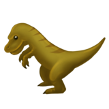 T-Rex on Emojipedia 6.0